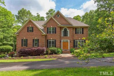 Chapel Hill Single Family Home For Sale: 115 Fawn Ridge Road