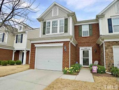 Raleigh Townhouse For Sale: 8330 Saltwood Place
