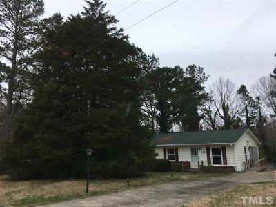 Wendell Single Family Home Pending: 315 Windy Hill Road