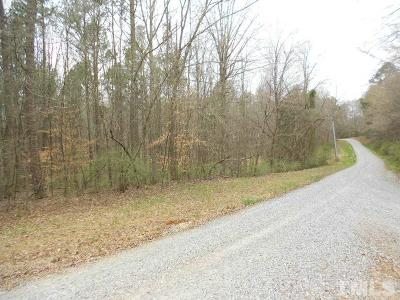 Chatham County Residential Lots & Land For Sale: 508 Canterbury Lane