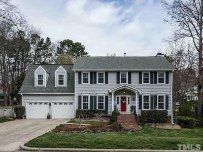 Cary Single Family Home Contingent: 300 Heathridge Lane