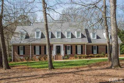 Wake County Single Family Home For Sale: 10837 Cahill Road