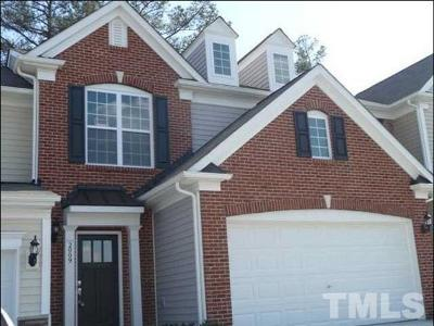 Morrisville Rental For Rent: 2009 Corwith Drive