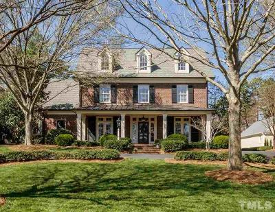 Raleigh Single Family Home Contingent: 1421 Canterbury Road