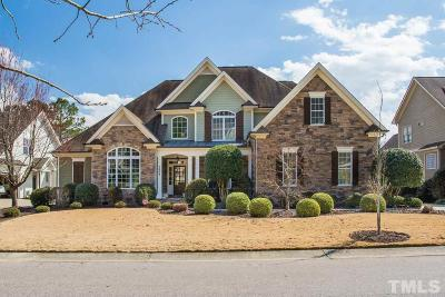 Wake Forest Single Family Home For Sale: 1304 Heritage Heights Lane