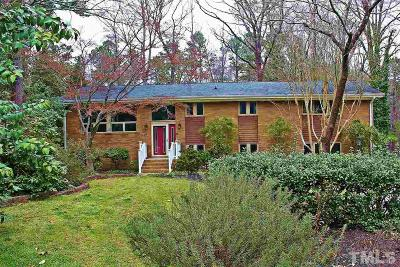 Wake County Single Family Home Contingent: 4820 Kilkenny Place Place