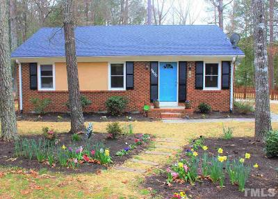 Durham Single Family Home For Sale: 5400 McCormick Road
