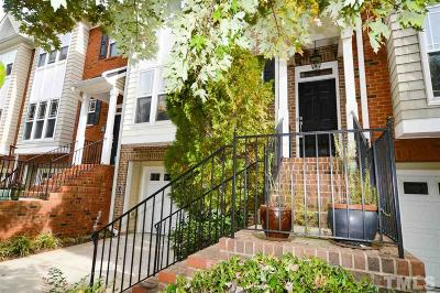 Carrboro Townhouse For Sale: 209 Rose Walk Lane