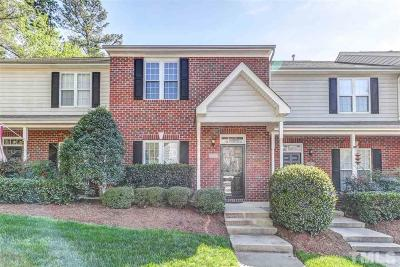 Raleigh Townhouse For Sale: 9008 Grassington Way