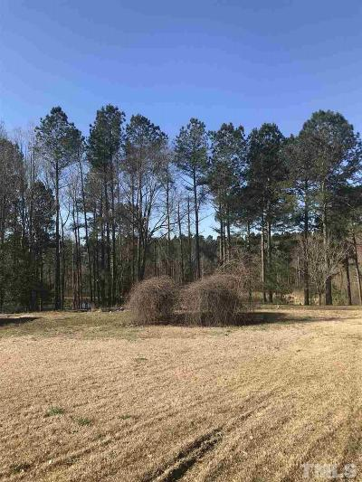Johnston County Residential Lots & Land For Sale: 455 Rock Pillar Road