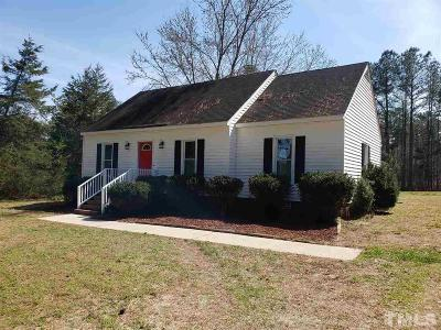 Wendell Single Family Home For Sale: 352 Turnipseed Road