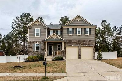 Rolesville Single Family Home Contingent: 4720 Lonnie Drive