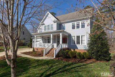 Wake County Single Family Home For Sale: 204 Branchside Lane