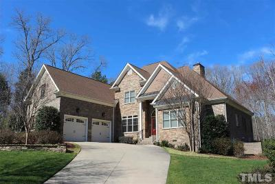Chatham County Single Family Home For Sale: 223 Lookout Ridge