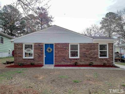 Durham NC Single Family Home For Sale: $165,000