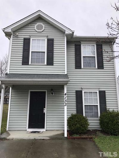 Raleigh NC Single Family Home For Sale: $172,900