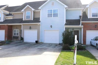Chatham County Townhouse For Sale: 68 Cole Place #B
