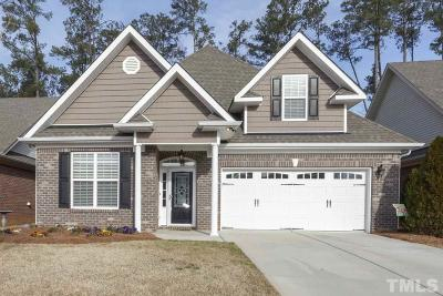 Garner Single Family Home For Sale: 136 Easy Wind Lane