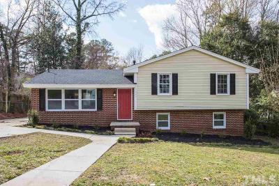 Raleigh Single Family Home For Sale: 3523 Brentwood Road