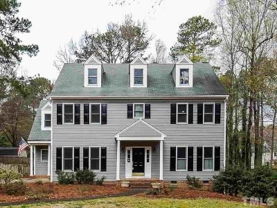 Apex Single Family Home For Sale: 4309 Ellinwood Drive