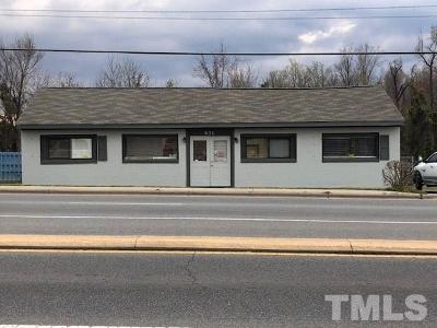 Johnston County Commercial For Sale: 651 N Brightleaf Boulevard