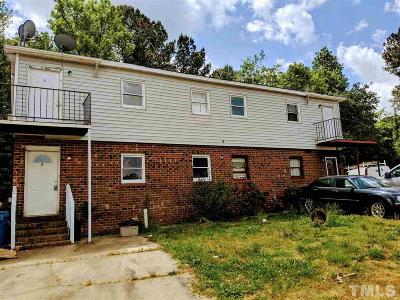 Wake County, Durham County, Orange County Multi Family Home For Sale: 9 Welch Place