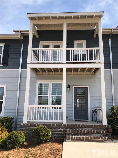 Chapel Hill NC Townhouse For Sale: $248,500