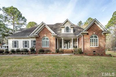 Johnston County Single Family Home For Sale: 477 Westerman Place