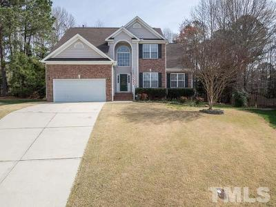 Wake Forest Single Family Home For Sale: 8616 Barrett Hall Lane