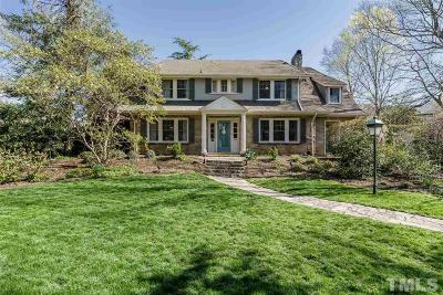 Hayes Barton Single Family Home For Sale: 908 Cowper Drive