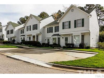 Raleigh, Cary Townhouse For Sale: 119 S McLean Court