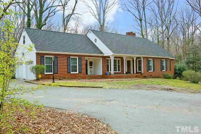 Sanford Single Family Home For Sale: 611 Carbonton Road