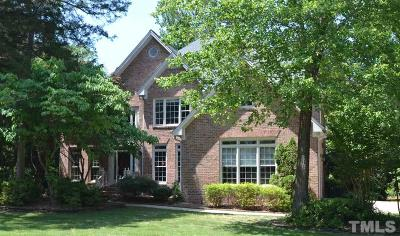 Cary Single Family Home For Sale: 109 Turquoise Creek Drive