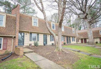 Raleigh NC Condo For Sale: $120,000