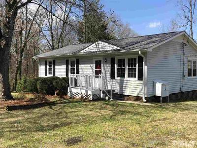Chatham County Single Family Home For Sale: 215 E College Street