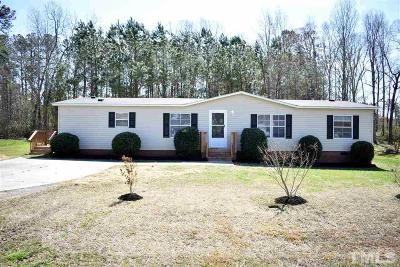 Wendell Manufactured Home For Sale: 7208 Campsite Drive
