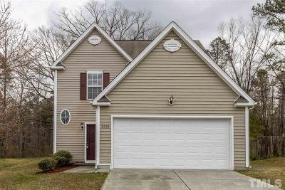 Durham Single Family Home For Sale: 2038 Spring Creek Drive