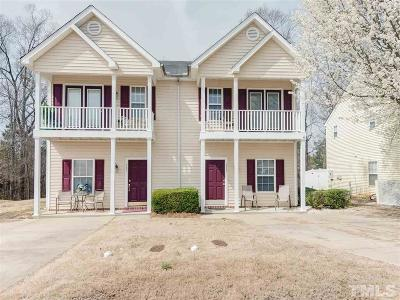 Johnston County Townhouse For Sale: 233 Woodson Drive