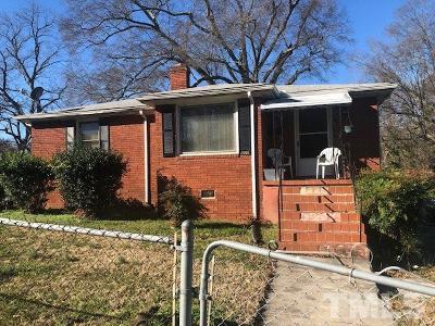 Durham County Single Family Home For Sale: 601 N Elizabeth Street