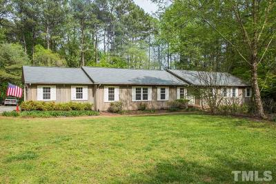 Wake County Single Family Home For Sale: 11808 Old Creedmoor Road
