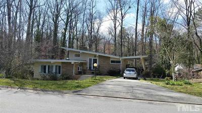 Durham County Single Family Home For Sale: 1617 Shawnee Street