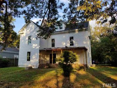 Wake County, Durham County, Orange County Multi Family Home For Sale: 511 S Main Street