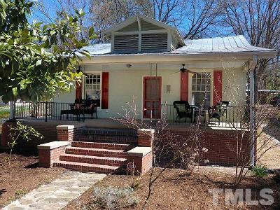 Durham Single Family Home For Sale: 1108 Georgia Avenue