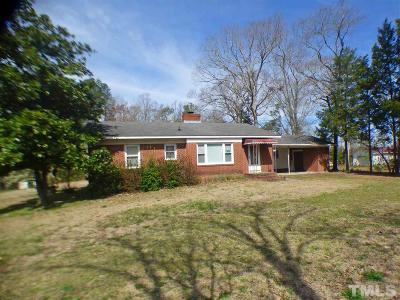 Sanford NC Single Family Home For Sale: $110,000
