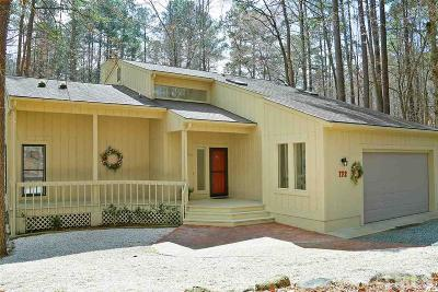 Pittsboro Single Family Home For Sale: 172 Wintersage
