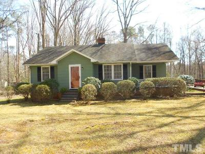 Pittsboro Single Family Home Contingent: 2313 Us 64 Business W