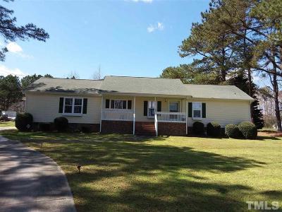 Raleigh Single Family Home For Sale: 8700 Lake Wheeler Road