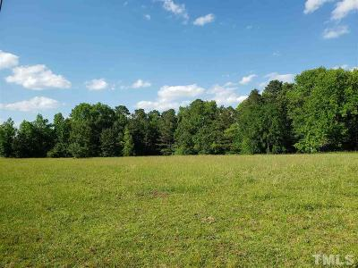 Franklin County Residential Lots & Land For Sale: 1B Sledge Road