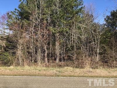 Granville County Residential Lots & Land For Sale: Lot 15 Dalton Mill Road