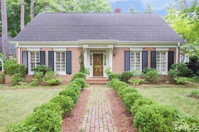 Wake County Single Family Home For Sale: 815-2 Marlowe Road #2